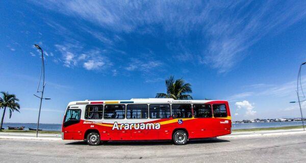 Tarifa dos ônibus municipais em Araruama cai de R$4,10 para R$2,50