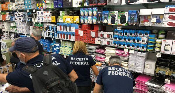 Rio: operação apreende mercadorias piratas avaliadas em R$ 1 milhão