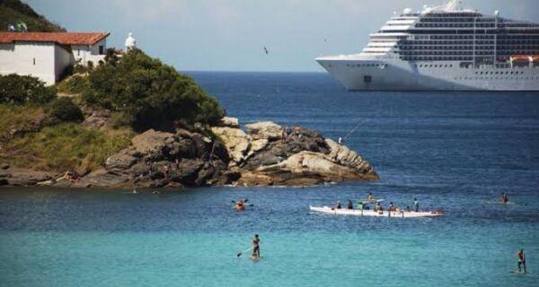 Ministério do Turismo anuncia volta dos cruzeiros marítimos em novembro: Cabo Frio  e Búzios na rota