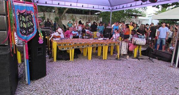 Santo Samba enche Praça de São Benedito