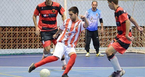 River e Cruz Vermelha empatam em jogo agitado pelo regional de futsal
