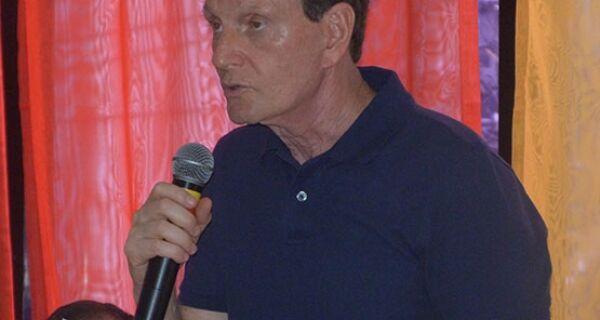 Em Cabo Frio, pré-candidato a governador Marcelo Crivella diz que vice pode ser do interior