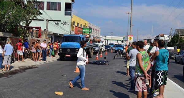 Acidente mata motociclista na Avenida América Central, em Cabo Frio
