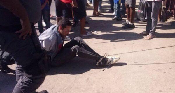Homem que apanhou após tentativa de assalto em Cabo Frio é identificado