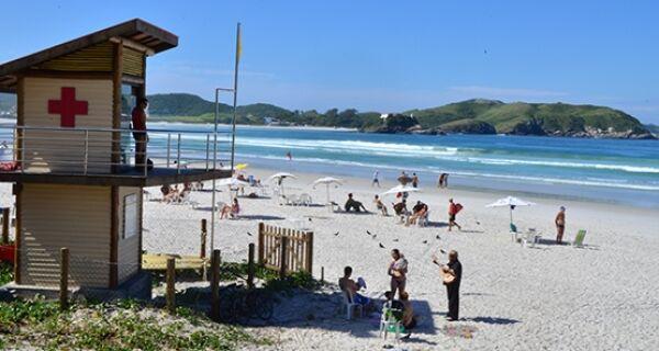 Fim de semana será de tempo aberto em Cabo Frio