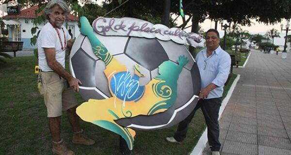 Jogos do Brasil serão transmitidos por um telão em Araruama