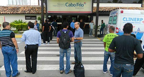 Copa do Mundo movimenta o Aeroporto Internacional de Cabo Frio