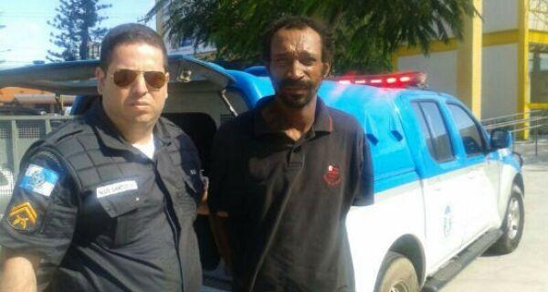 Homem é detido após briga e tentativa de furto de  bicicleta em Cabo Frio