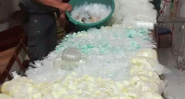 Megaoperação da PM apreende 77 quilos de maconha e 27 de cocaína