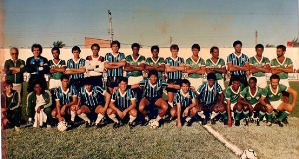 Técnico da Argentina jogou no Correão em 1985
