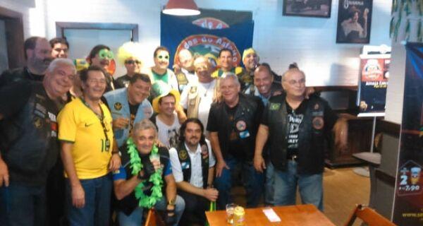 Motociclistas maçons chegam a Cabo Frio para o Bikerfest