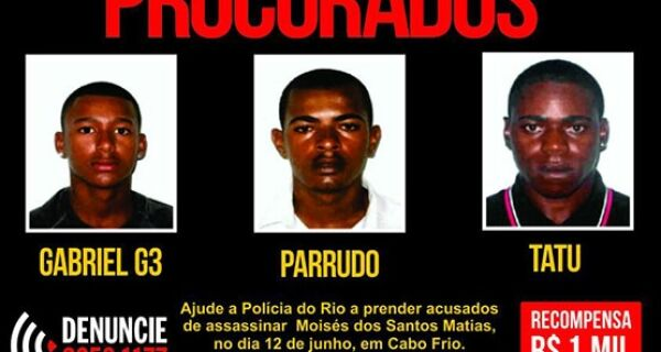 Polícia paga recompensa de R$ 1mil