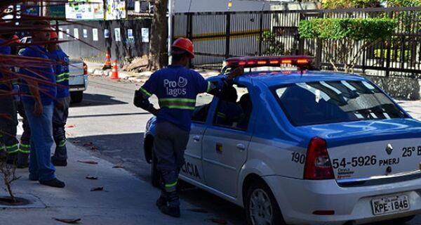 Operação flagra furto de água em zona nobre de Cabo Frio