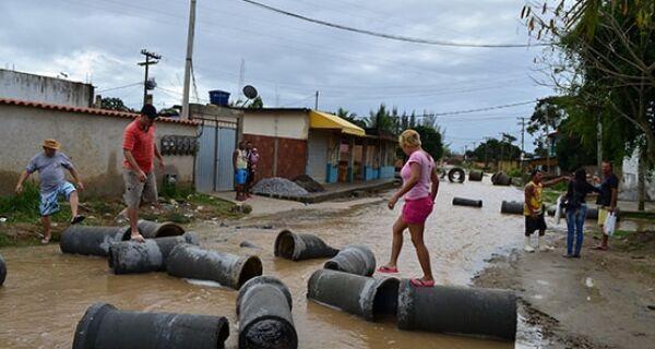 Após várias reclamações de moradores, bairro Alecrim receberá rede de esgoto