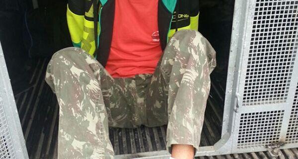 Jovem é flagrado com 91 cápsulas de cocaína na Boca do Mato, em Cabo Frio