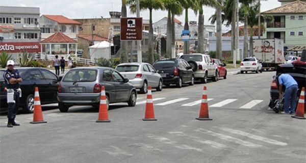 Trânsito é alterado em ruas de São Pedro