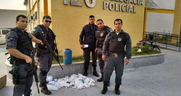 Polícia Militar apreende quatro quilos de cocaína em Cabo Frio