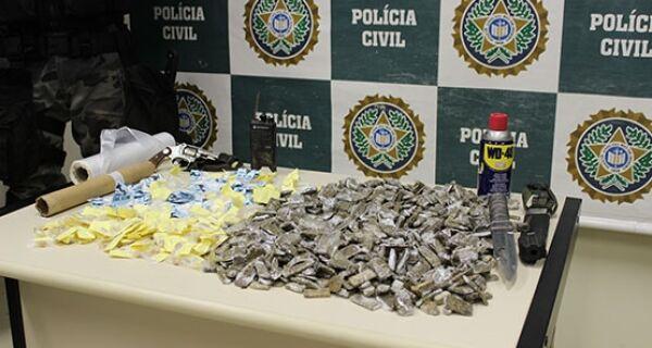 Operação dá golpe de R$10 mil ao tráfico