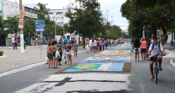 Corpus Christi: estão abertas as inscrições para confecção de tapetes em Cabo Frio