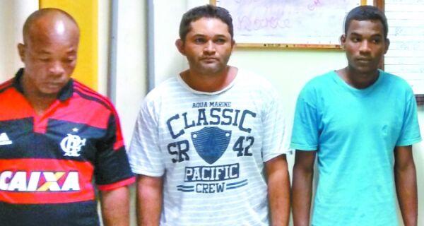 Polícia prende três acusados de estupro em menos de dois dias
