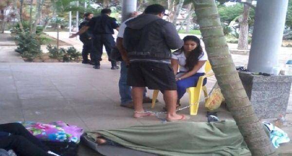 Greve de fome de agentes de Buzios já dura 28 horas