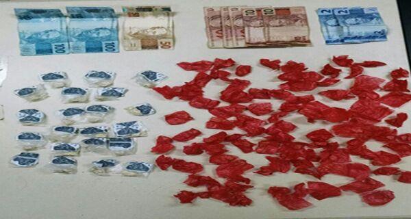 Homem é preso com drogas na Boca do Mato, em Cabo Frio
