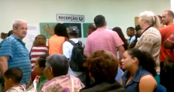 Atendimento na Policlínica de São Pedro causa confusão