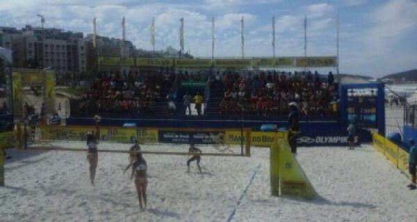 Cabofriense perde primeiro jogo do Circuito de Volei de Praia