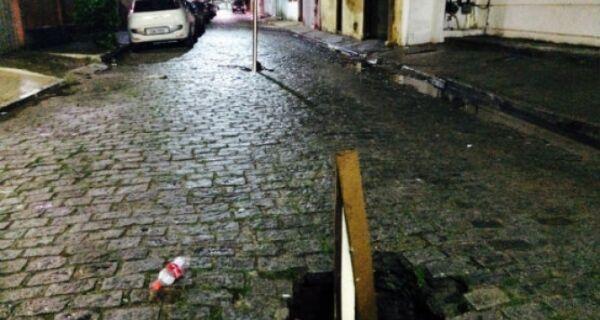 Más condições das ruas e estradas irritam moradores da região