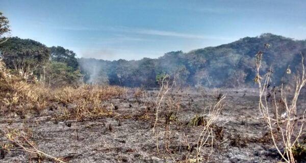 APA em Arraial do Cabo pega fogo