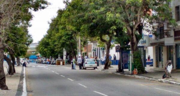 Guarda Municipal interdita trecho da Avenida Assunção