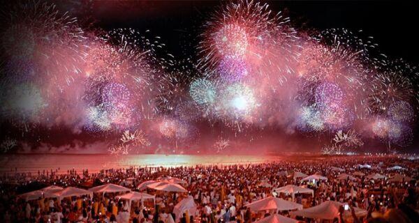Festa de réveillon e queima de fogos repercute mal em Cabo Frio