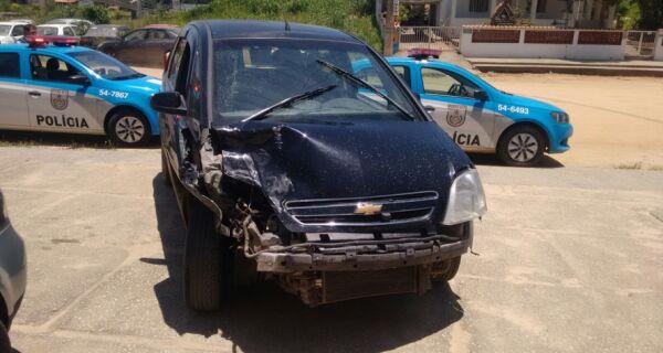 Trio é preso em São Pedro após tentativa de homicídio e acidente com morte