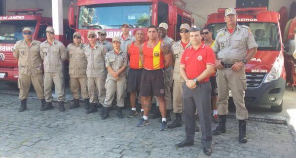 Leonardo Curi:'Tenho sangue de bombeiro'