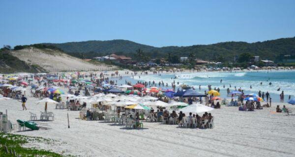 Temperaturas em Cabo Frio ficam acima dos 30°C no Carnaval