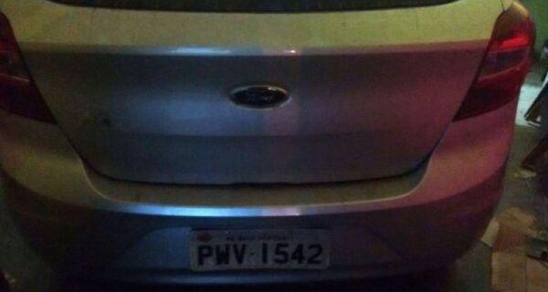 Polícia recupera em São Pedro carro roubado em Cabo Frio