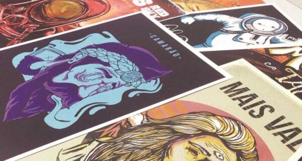 Don Caballero recebe exposição 'Mil Ilustras' neste fim de semana