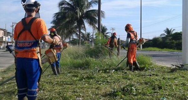 Força-tarefa da prefeitura retira 200 toneladas de lixo em Tamoios