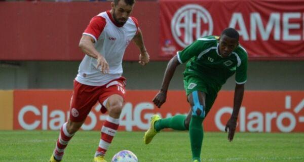 Com gols de corintiano, Cabofriense cai diante do América na estreia da Taça Rio