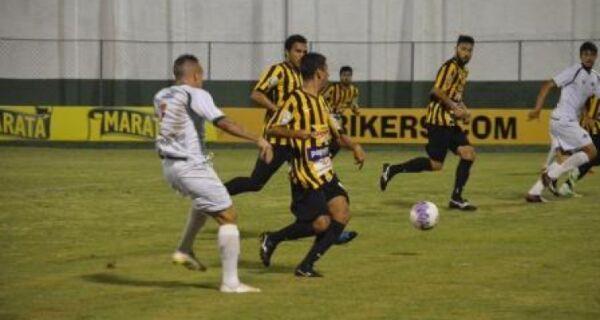 Cabofriense fica no empate sem gols e time entra na zona da degola