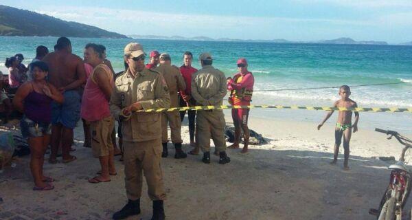 Corpo de Marcelo acaba de ser encontrado no mar de Arraial