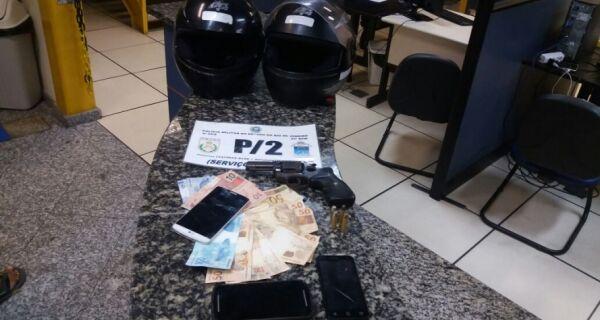 Polícia prende suspeitos de roubar quiosque de lanchonete no Forte