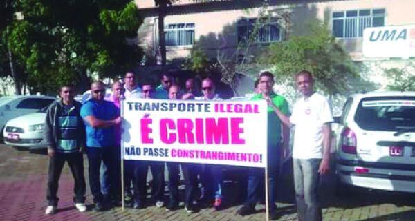 Taxistas se queixam de ameaça de clandestinos
