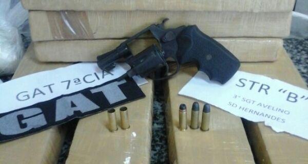 Após perseguição policial, pai e filho vão presos com 12 Kg de drogas