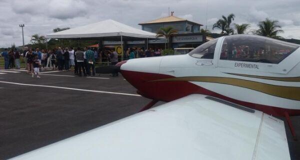Aeroporto de Búzios é reaberto depois de quatro anos fechado