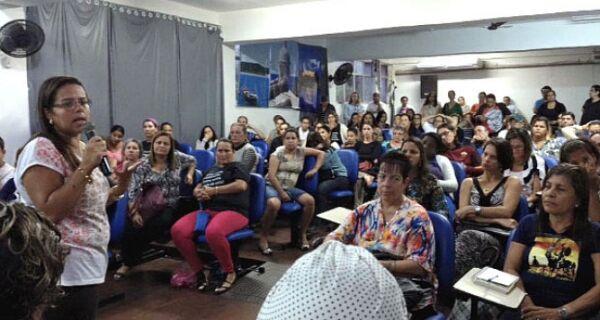 Alair afirma que grevistas da Educação serão pagos por último