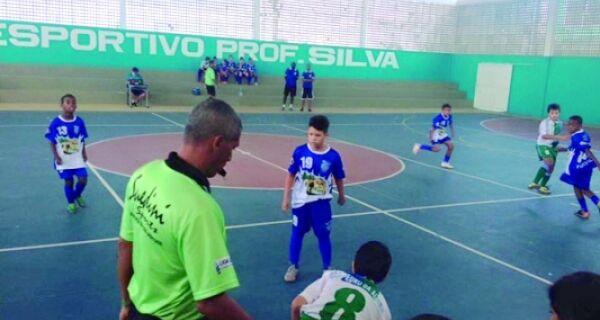 Regional de futsal agita o fim de semana