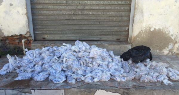 Polícia aprende mais de 18 mil cápsulas de cocaína na Boca do Mato