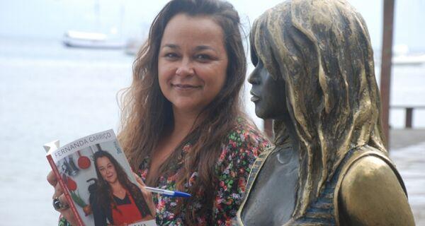 Fernanda Carriço participa de tarde de autógrafos do Sabor & Prosa em Búzios