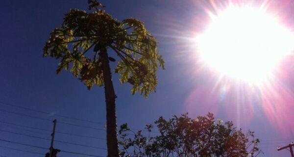 Fim de semana deve ser de sol e sem chuva na região